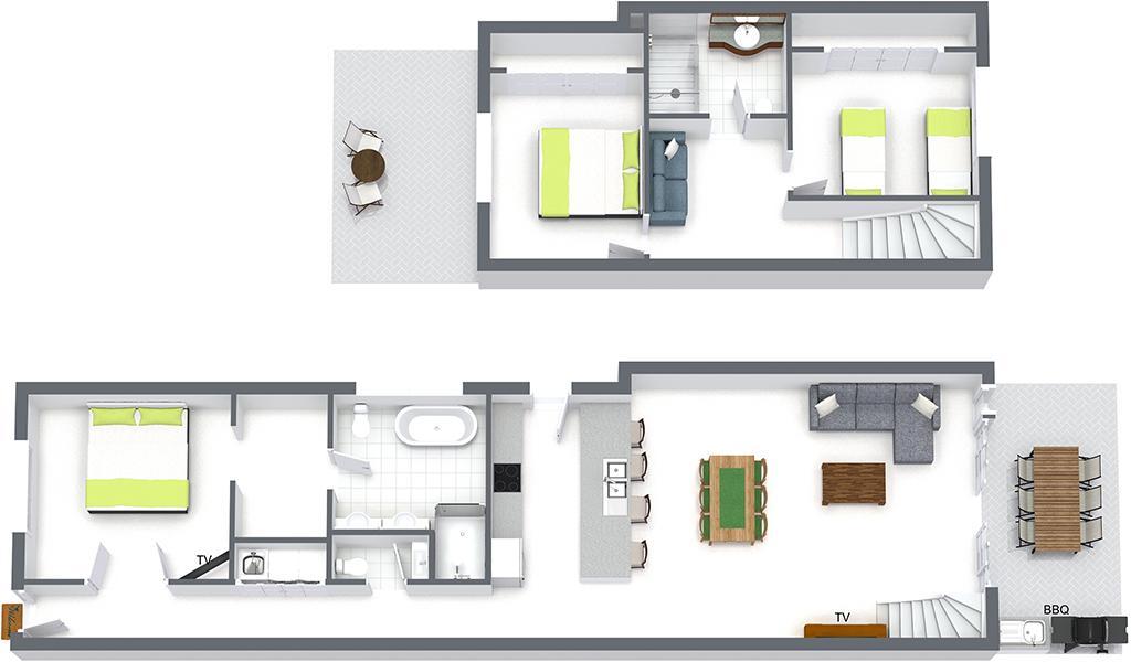 County Down - Port Melbourne - Floor Plan 1024px