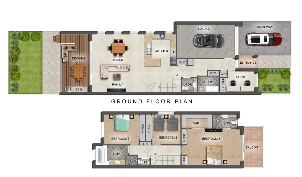 Edinburgh Place 2D floorplan