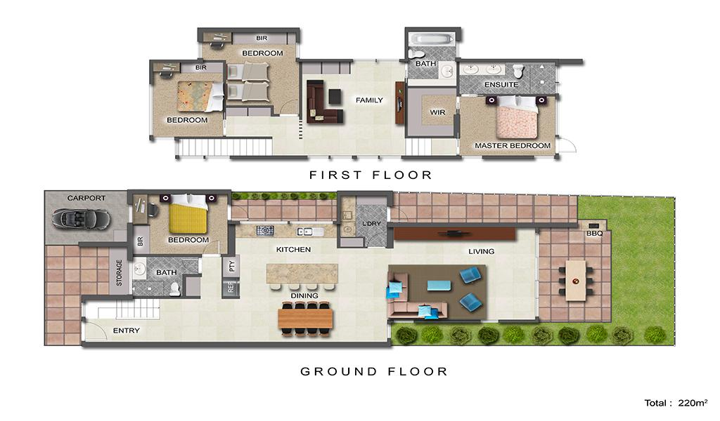 Woodfin House - Abbotsford - Floor Plan 1024 Pix