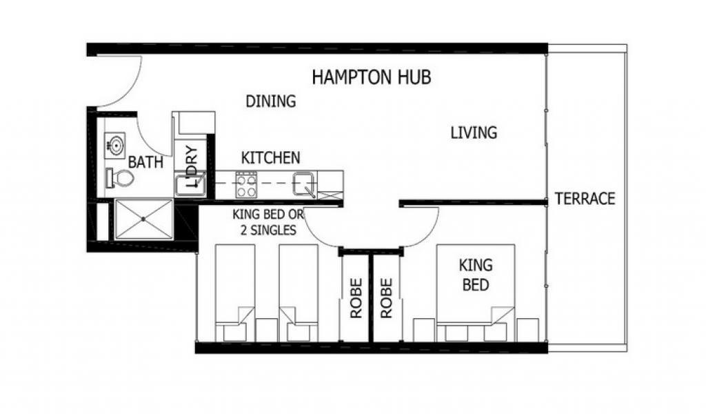 Hampton Hub - Hampton - Floor Plan