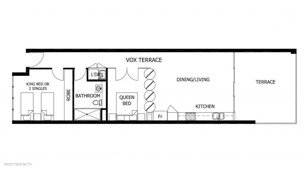 Vox Terrace - Prahran - Floor Plan