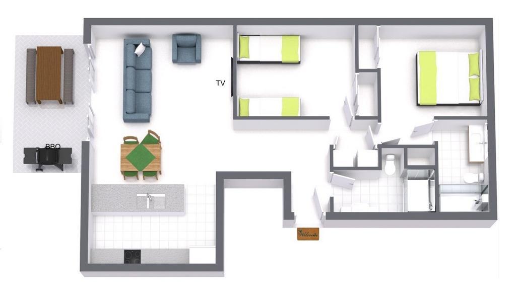 Zinc Views 501 - Port Melbourne - Floor Plan