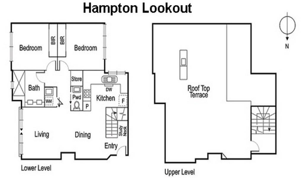 Hampton Lookout - Hampton - Floor Plan
