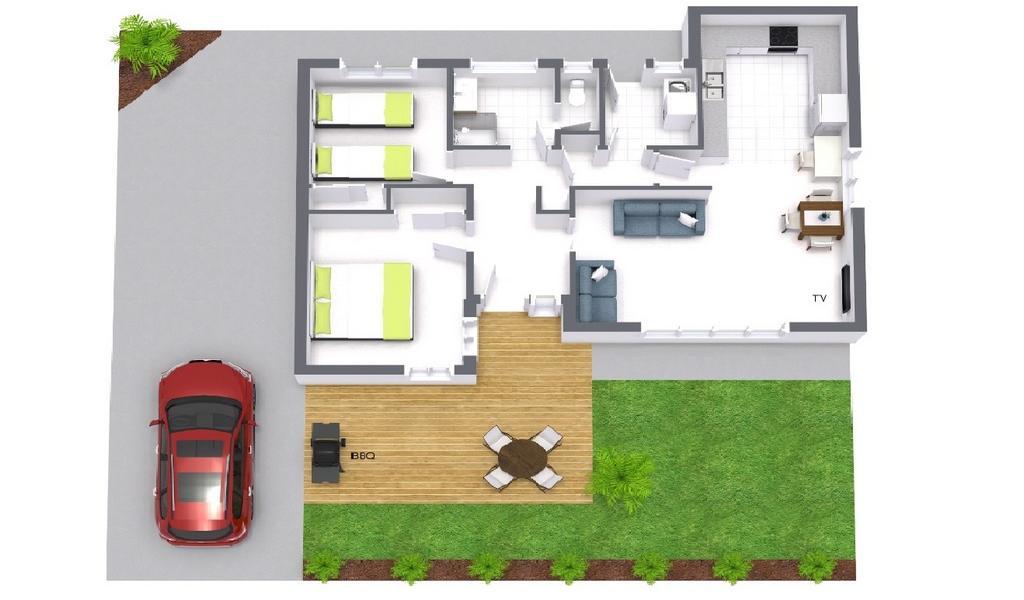 Sandy Side 1 - Sandringham - Floor Plan