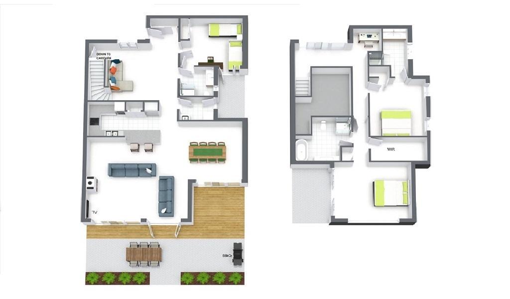 Elwood Hideaway - Elwood - Floor Plan