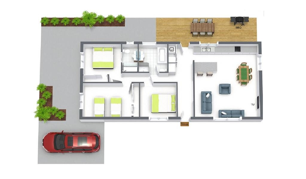 Sandy Haven C - Sandringham - Floor Plan