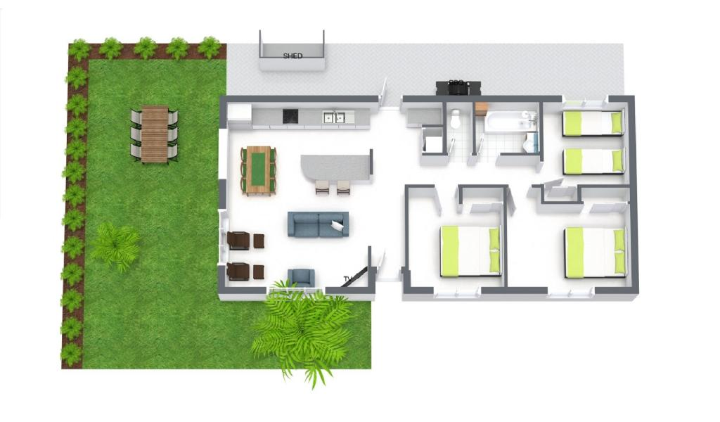 Sandy Haven A - Sandringham - Floor Plan