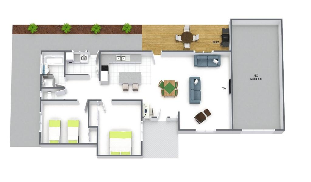 Sandy Side 3 - Sandringham - Floor Plan