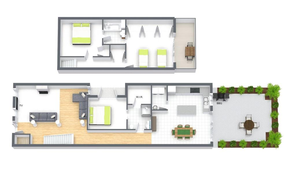 Roxys Place - Prahran - Floor Plan