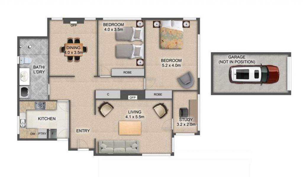 Frankies Place - Malvern - Floor Plan