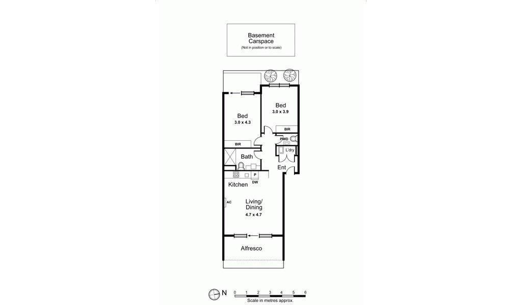 The Lansdowne - St Kilda - Floor Plan