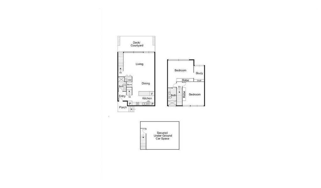 The Cassin - Elwood - Floor Plan
