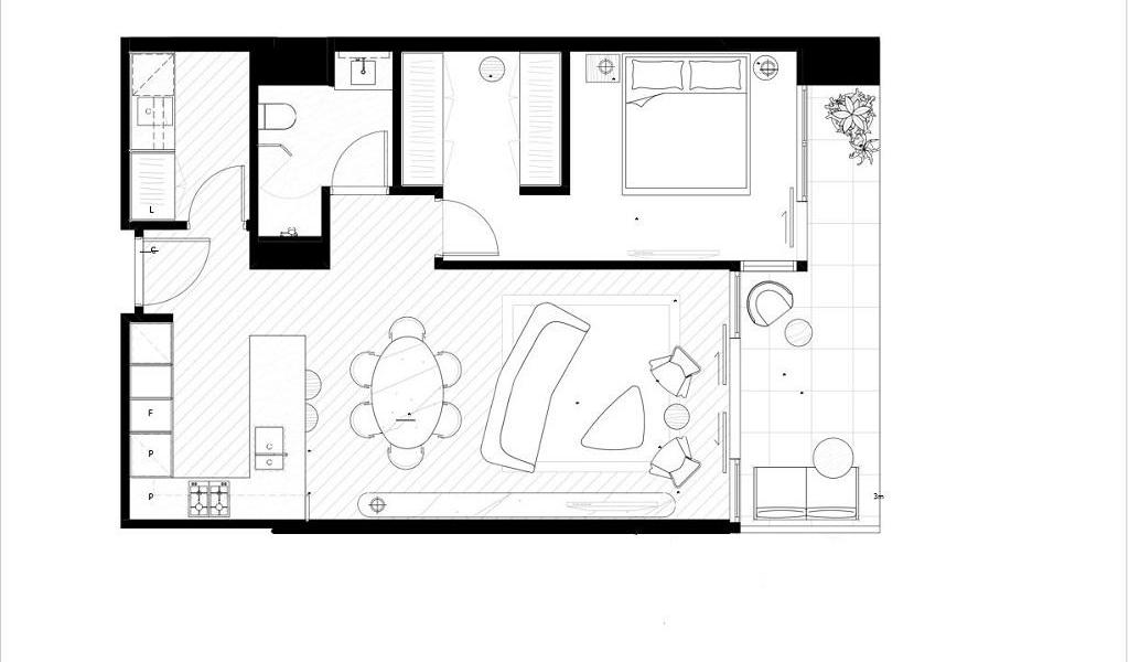 The Fawkner - Melbourne - Floor Plan
