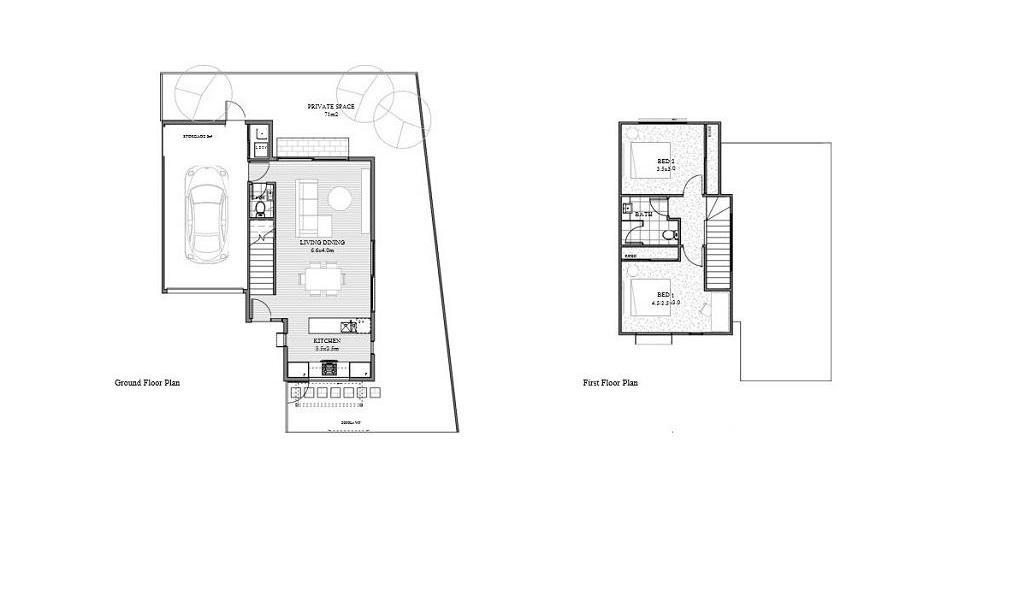 The Aspy - Aspendale - Floor Plan