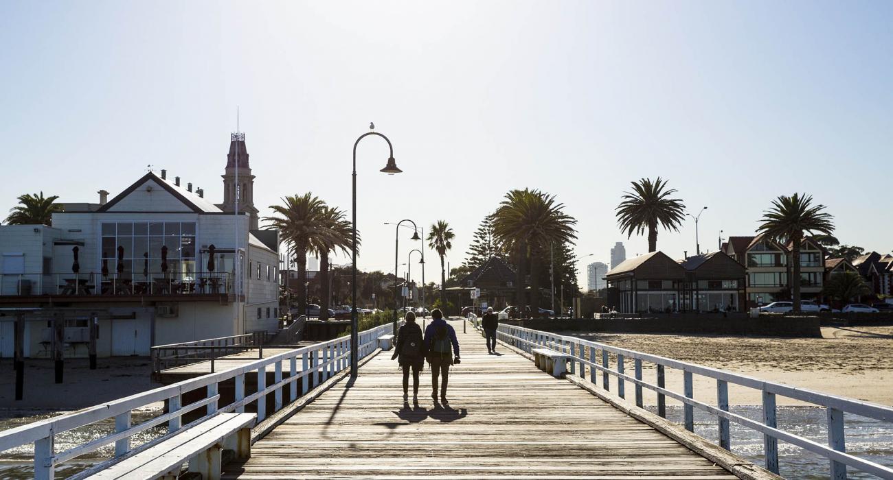 Albert Park - Port Melbourne Pier