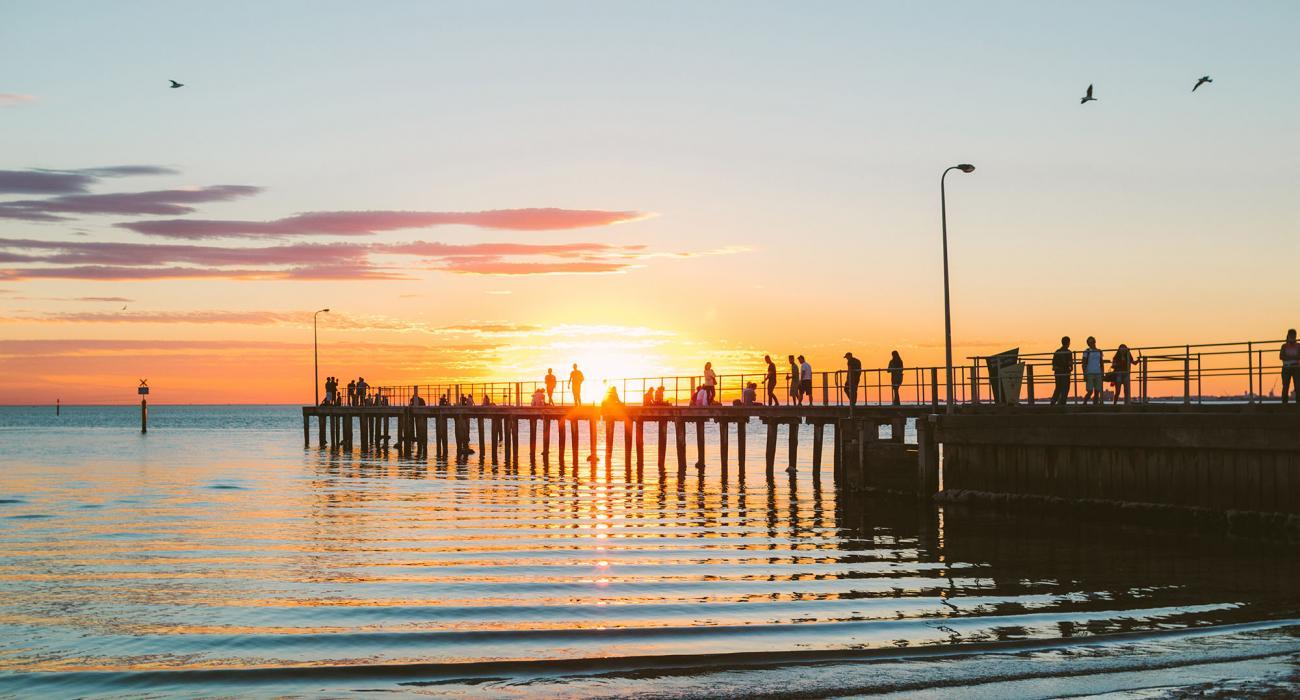 Albert Park - St Kilda Pier Sunset