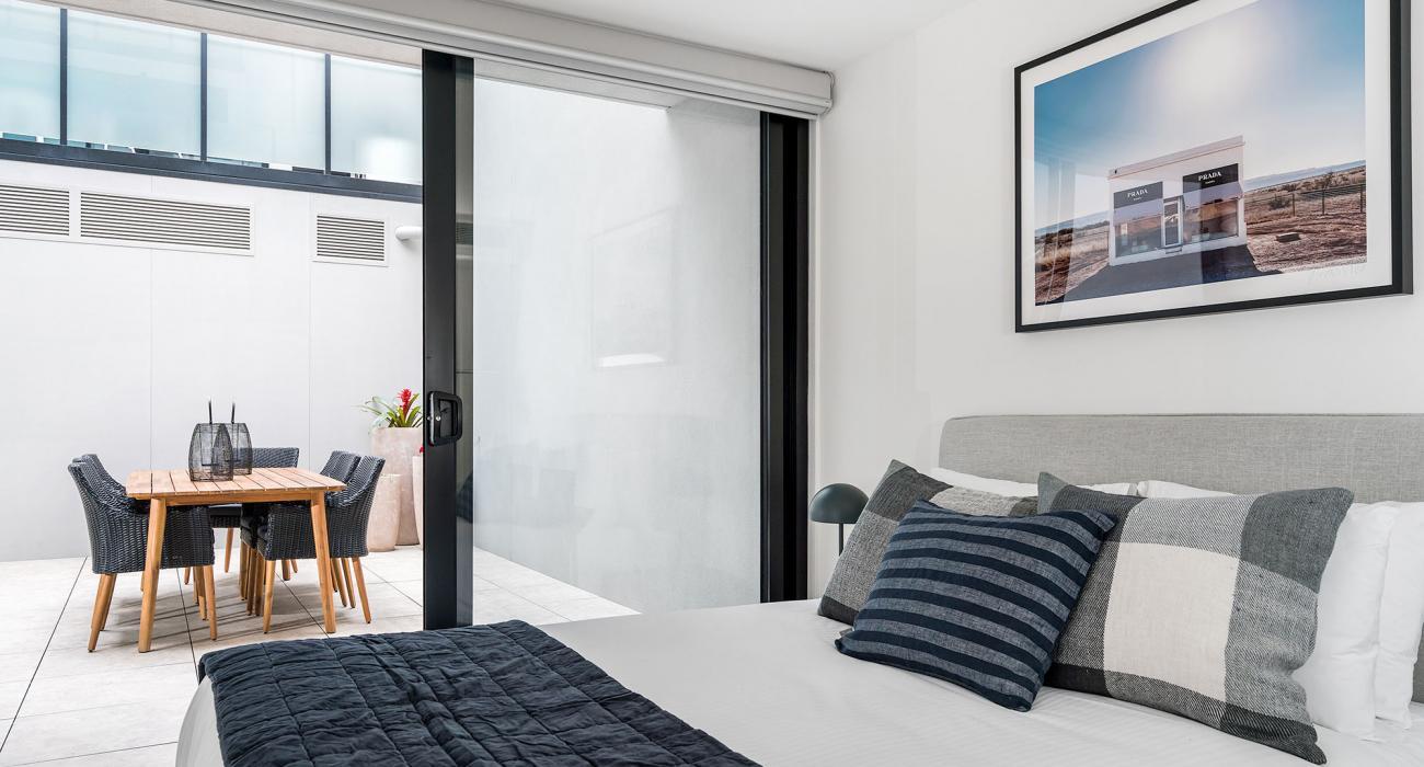 Axel Apartments The Faircroft - Glen Iris - Bedroom Master