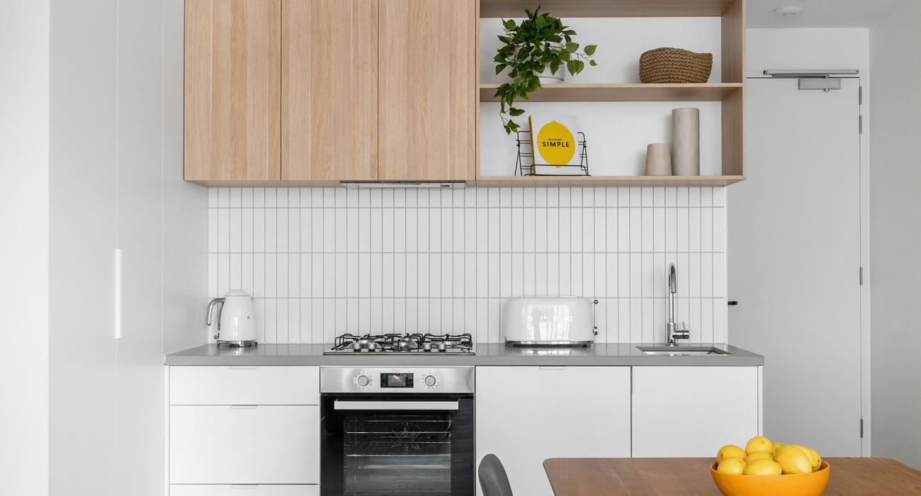 Axel Apartments - The Anderson - Glen Iris - Kitchen