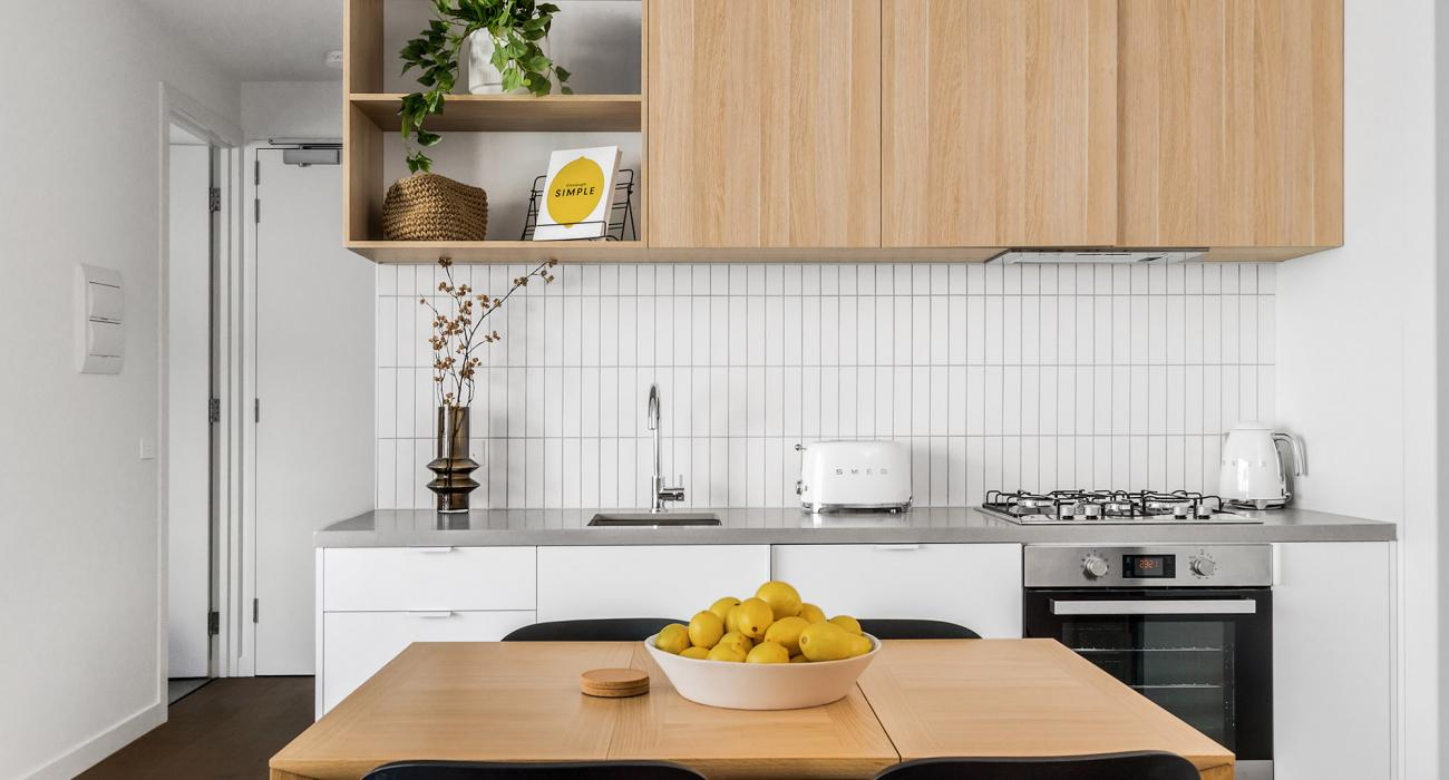 Axel Apartments - The Parkin - Glen Iris - Kitchen