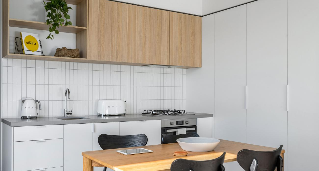 Axel Apartments - The Radnor - Glen Iris - Kitchen and Dining b