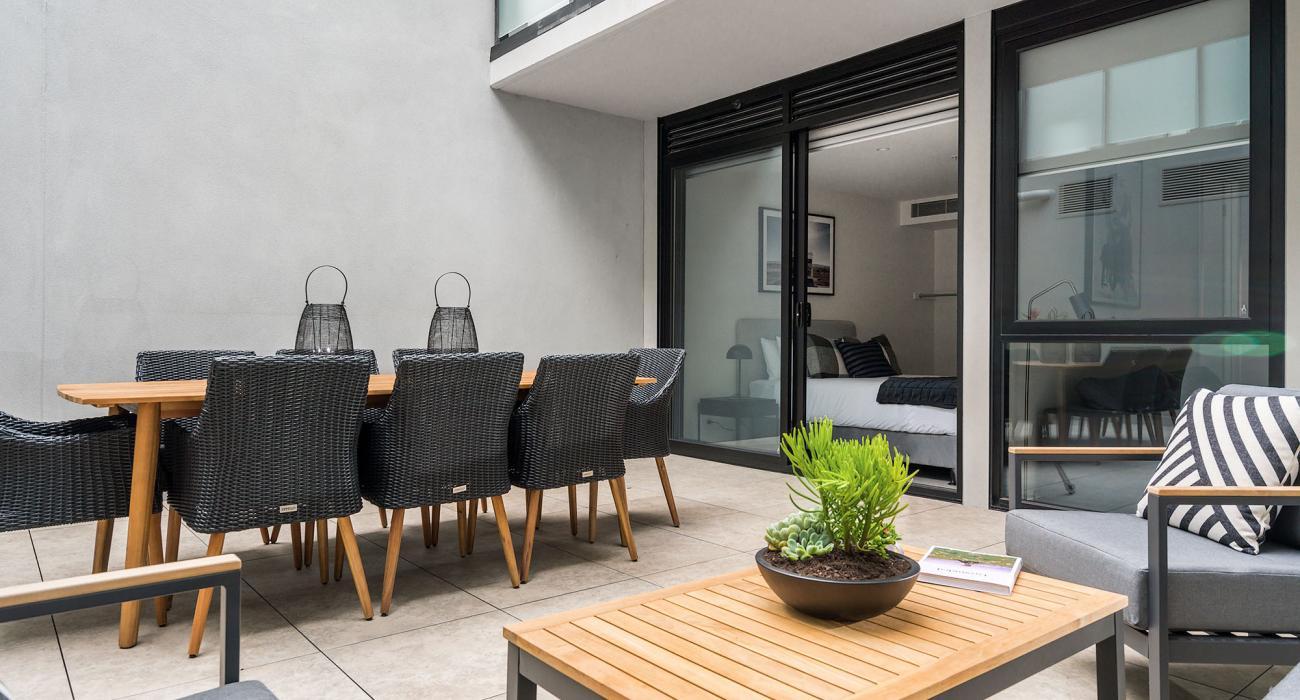 Axel Apartments The Faircroft - Glen Iris - Outdoor Area