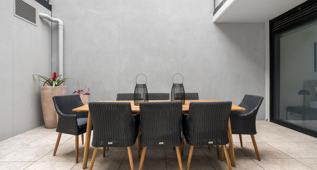 Axel Apartments The Faircroft - Glen Iris - Outdoor Dining