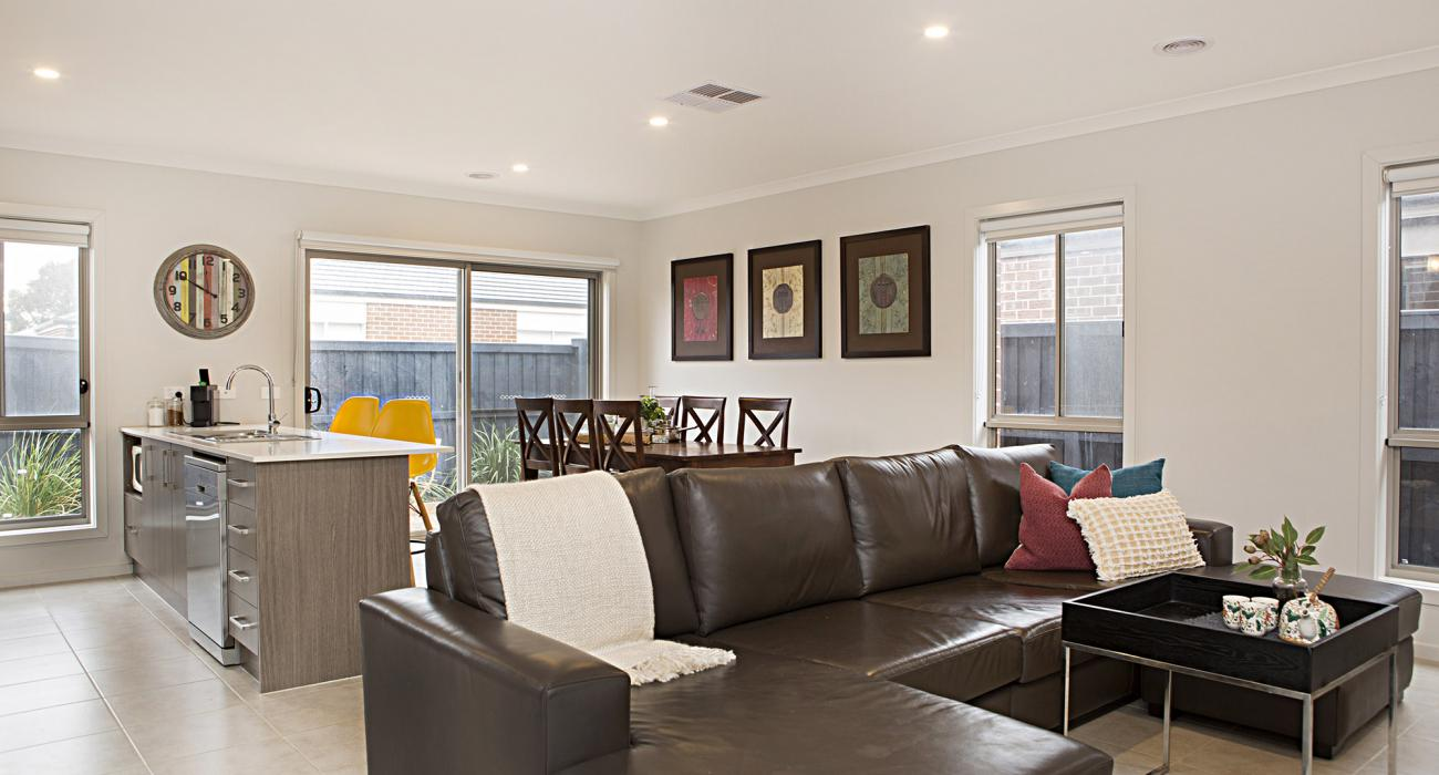Carinya - Werribee - Lounge Dining and Kitchen Area b
