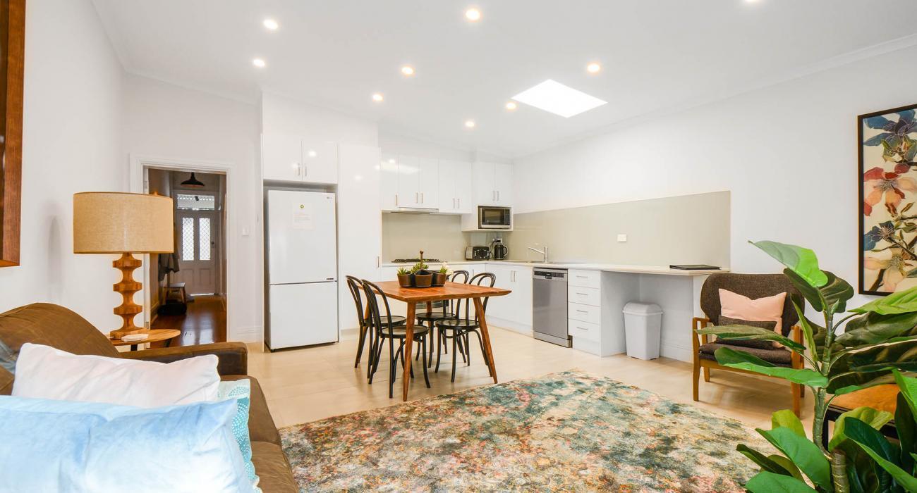 Carlton Terrace - Carlton - Living and Dining Area Looking toward Kitchen