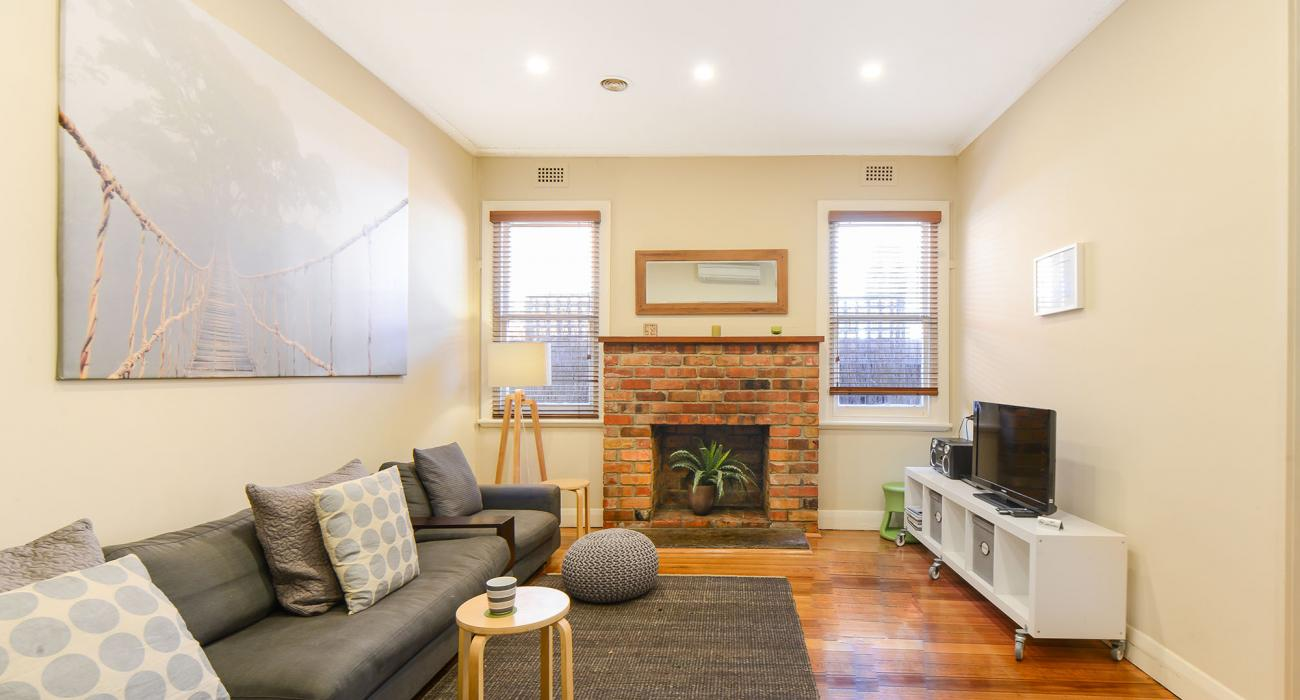 Clifton Park - Clifton Hill - Living Area Fireplace b