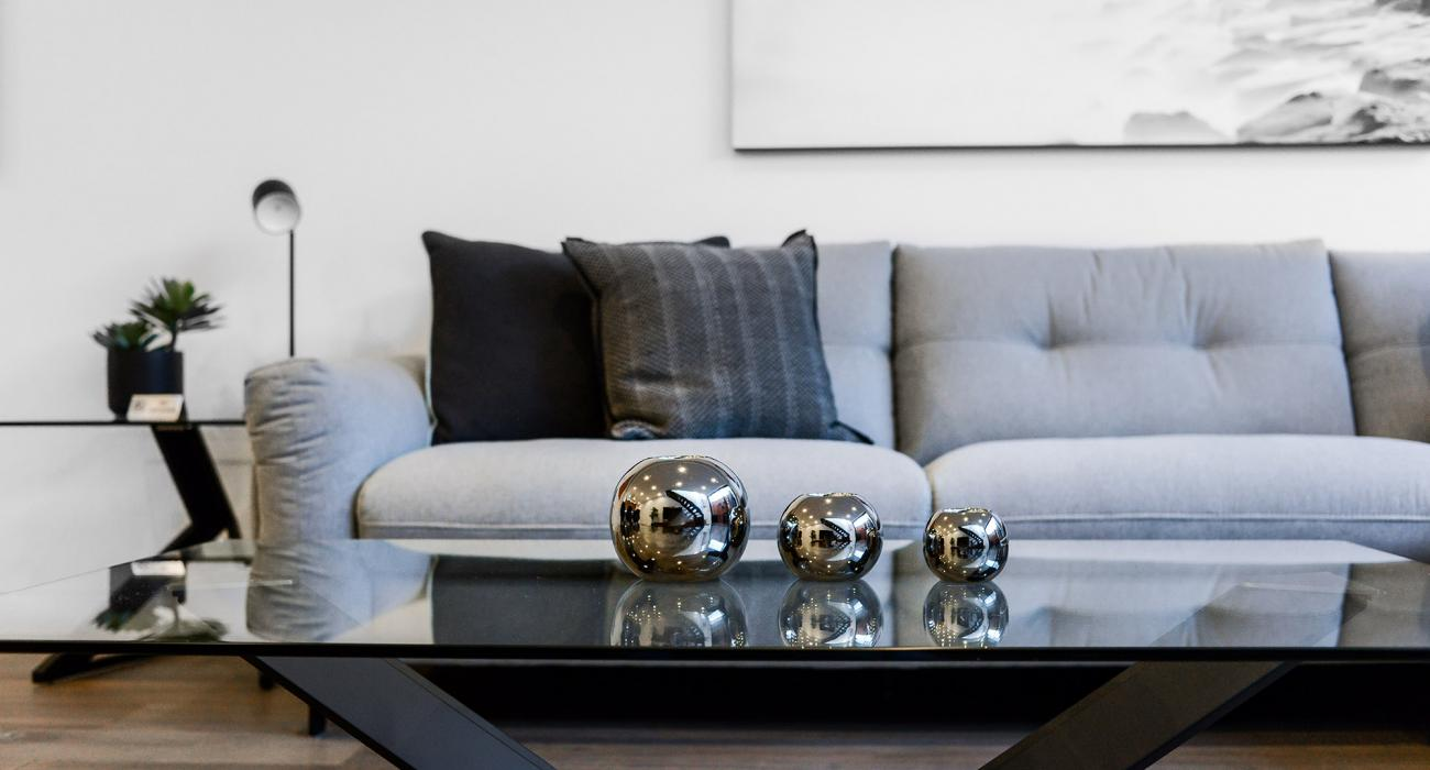 County Down - Port Melbourne - Living Area Table and Couch