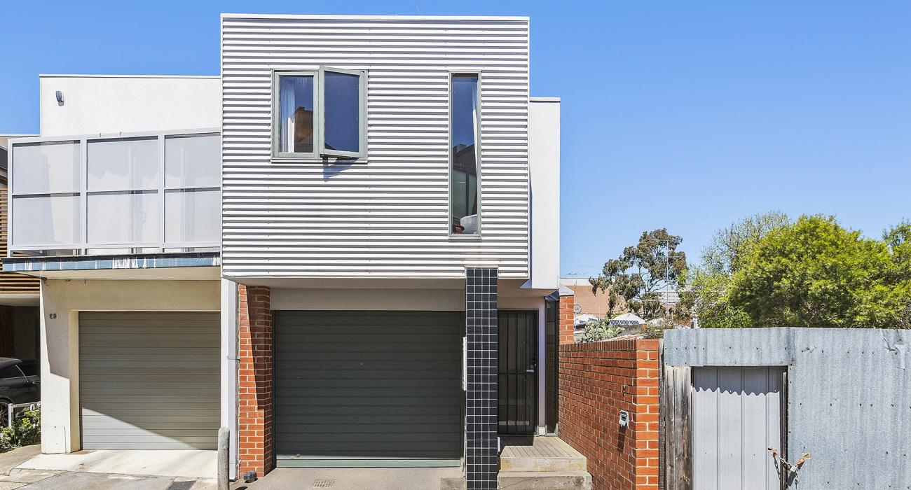 Curran Terrace - North Melbourne - Exterior and Entry