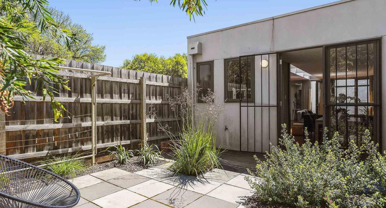 Curran Terrace - North Melbourne - Rear Courtyard
