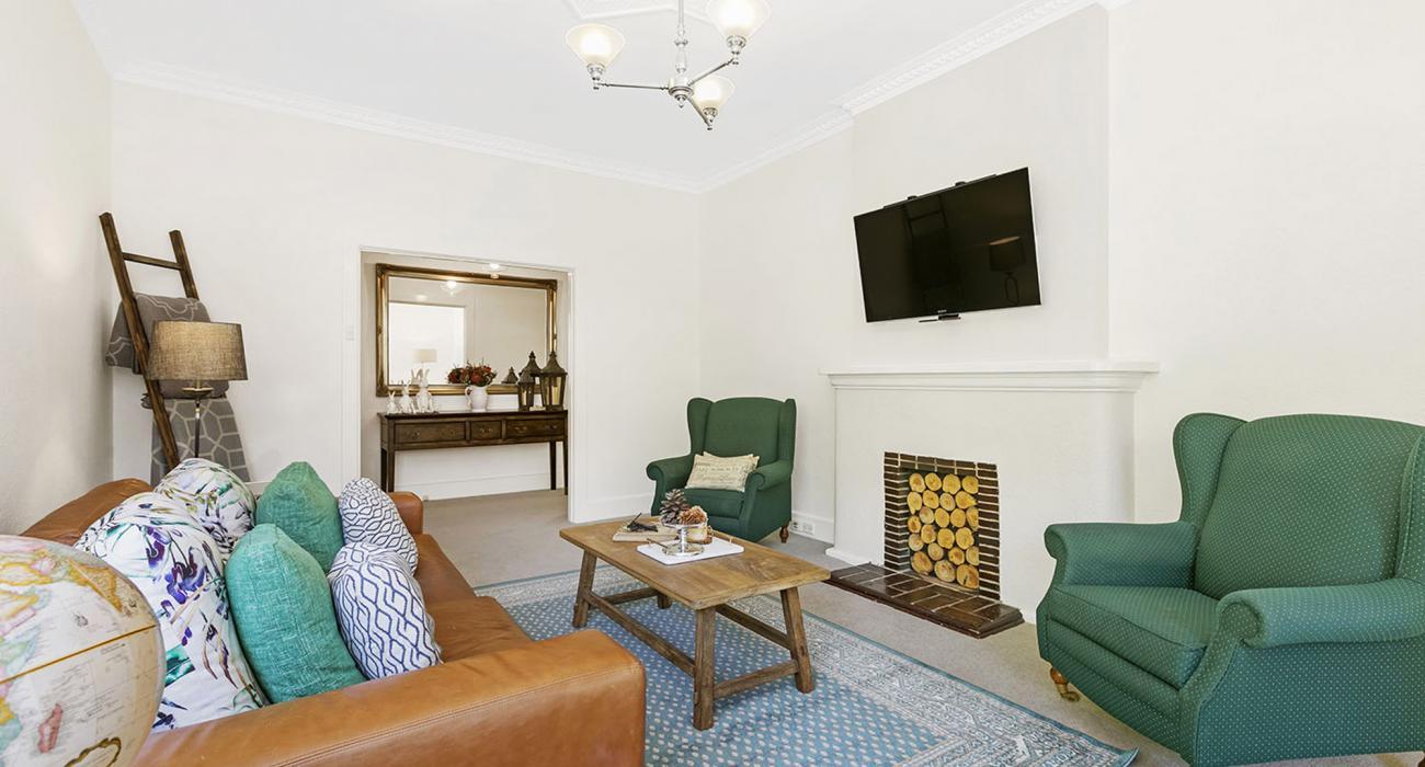 Frankies Place - Malvern - Living Room Area a