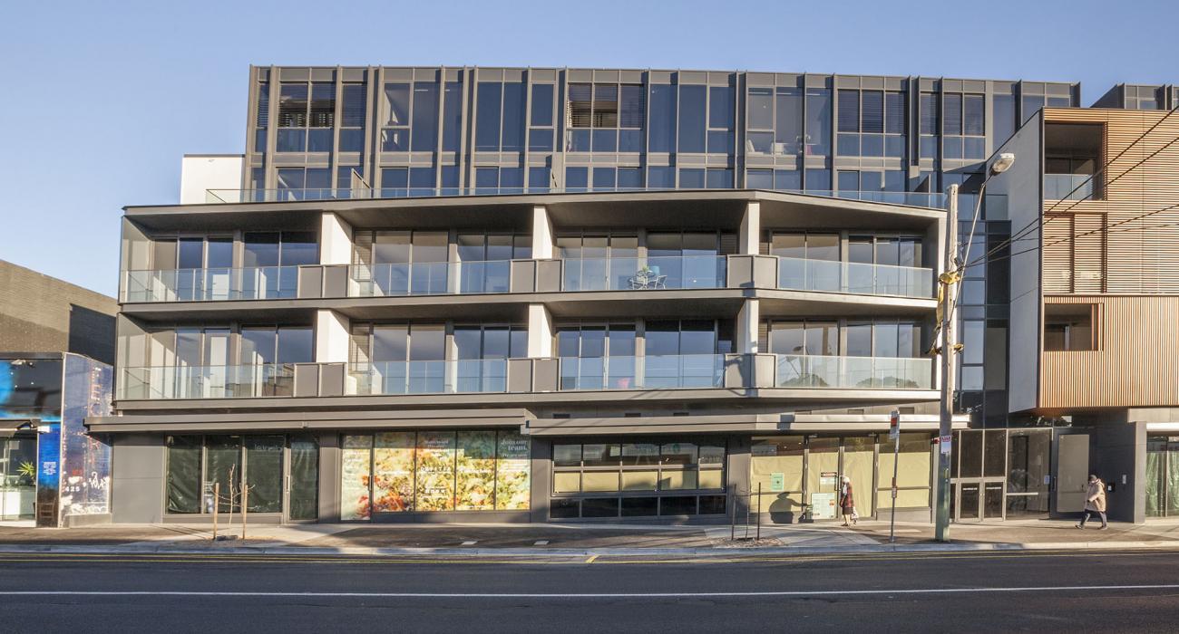 Hampton Hub - Hampton - Front of Apartment