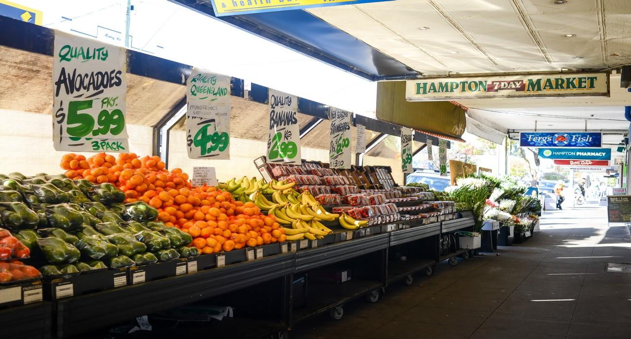 Hampton market Fresh Produce
