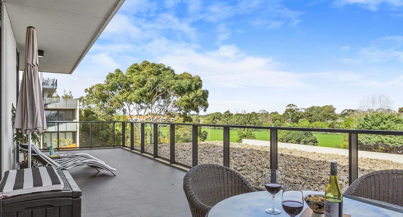 Heathland Views - Sandringham - Balcony and View from Bedroom 1