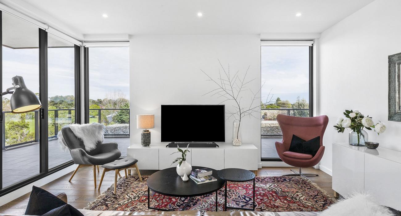 Heathland Views - Sandringham - Living Area