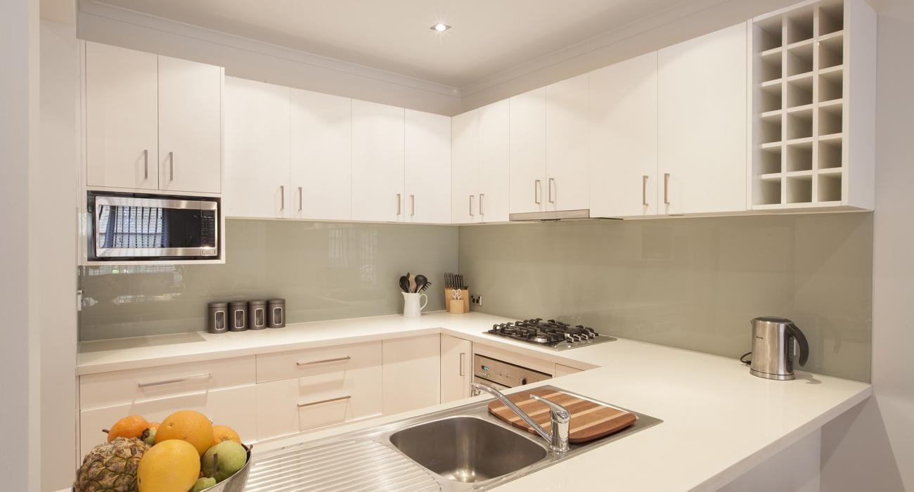 Melrose Terrace - North Melbourne - Kitchen Area b