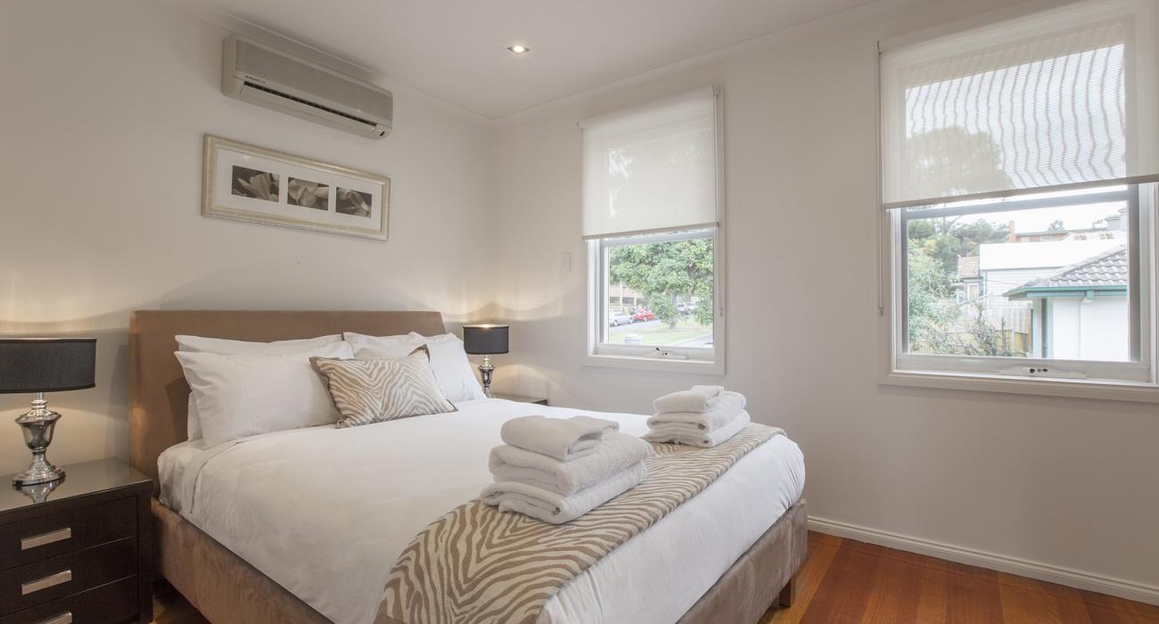 Melrose Terrace - North Melbourne - Main Bedroom c