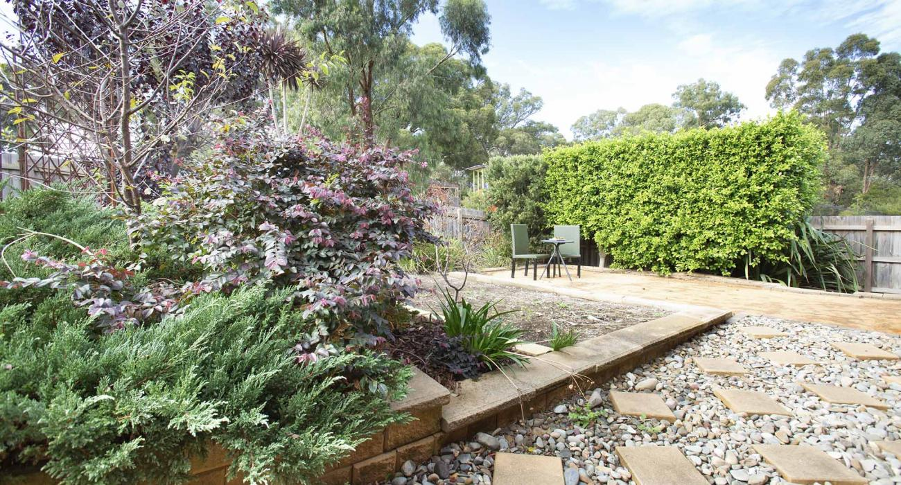 Parkside Place - Plenty Valley - Rear garden