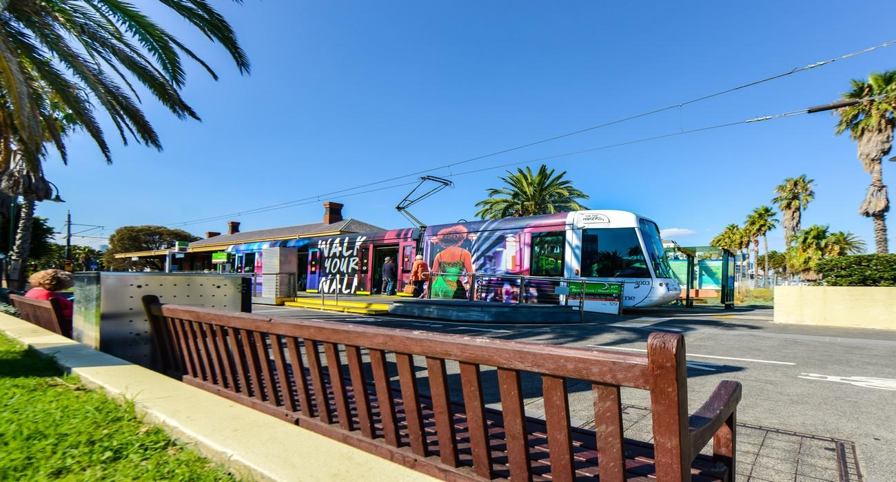 Port Melbourne Tram Stop