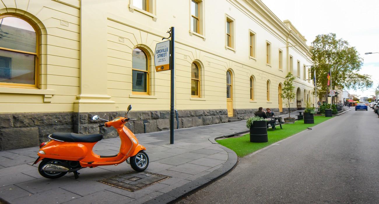Prahan inner city accommodation
