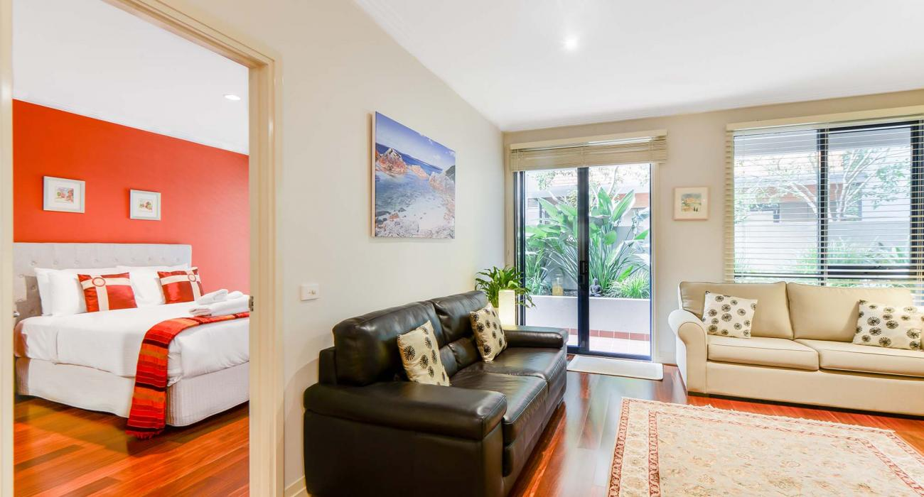 River Boulevard - Richmond - Living to Master Bedroom