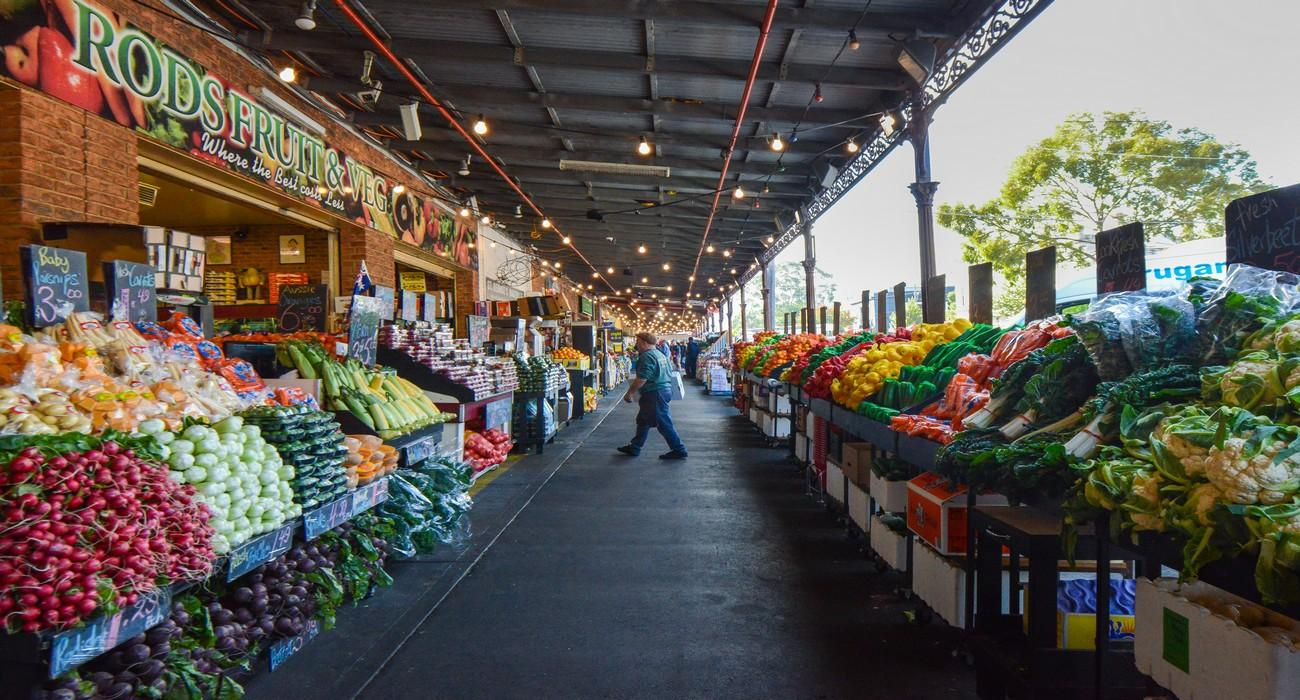 South Melbourne Markets Fresh Produce