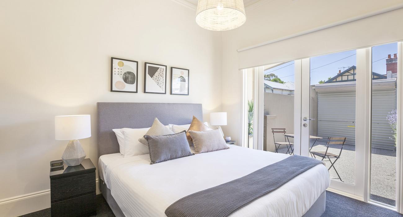 South Yarra Lane - South Yarra - Master Bedroom c