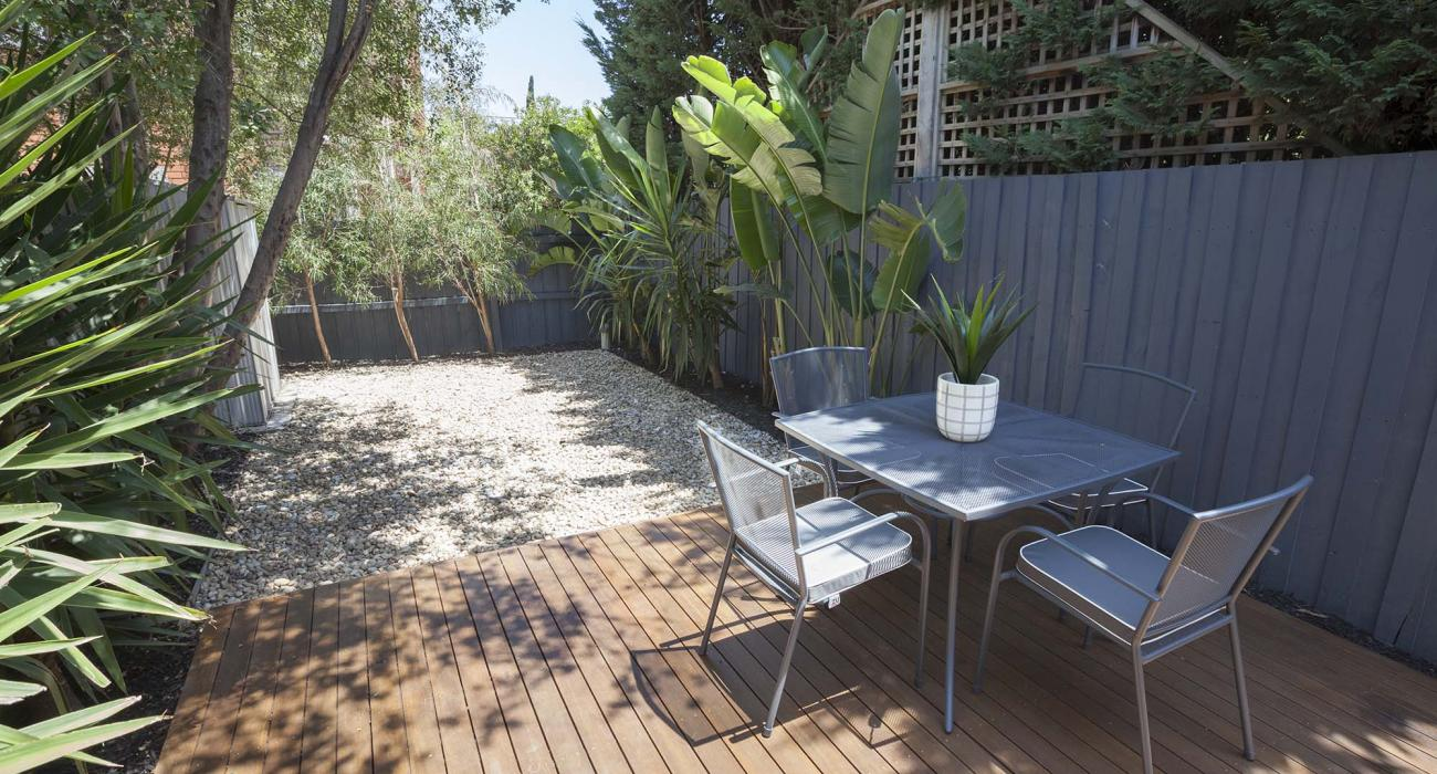 South Yarra Lane - South Yarra - Outdoor Seating Area Rear b