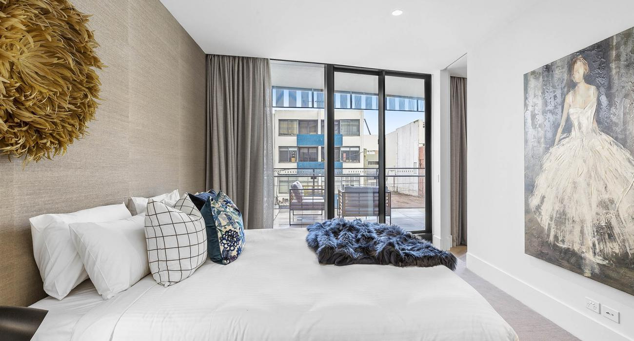 The Capitol - South Yarra - Bedroom 1b