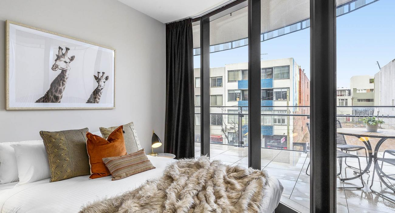 The Capitol - South Yarra - Bedroom 2b