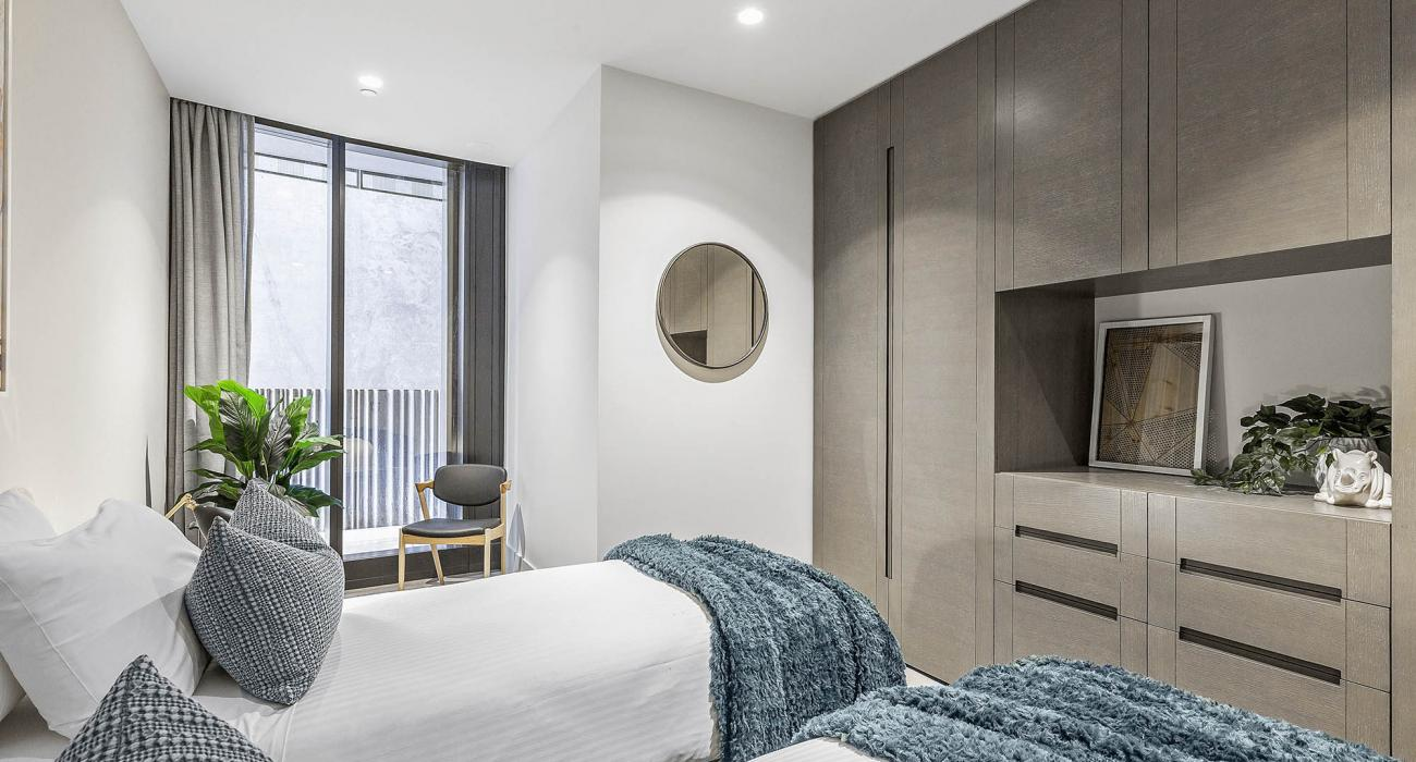 The Capitol - South Yarra - Bedroom 3b