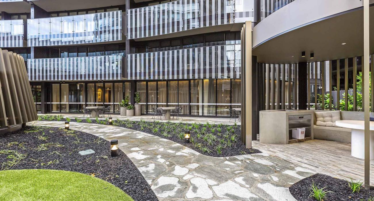 The Capitol - South Yarra - Communal Gardens